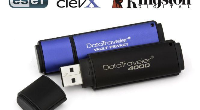Les clés USB Kingston obtiennent une protection antivirus de la part d'ESET